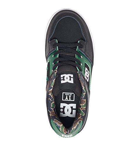 DC Shoes Pure Elastic SE - Slip-On Lace-Look Shoes - Garçon