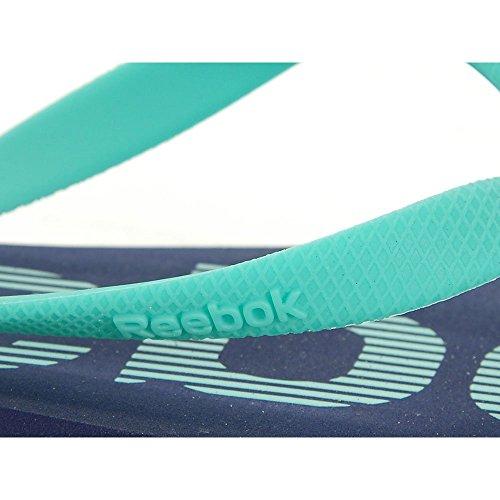Reebok - Hanawi IV Jclip - J99374 - Couleur: Bleu-Turquoise - Pointure: 40.0