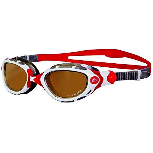 Zoggs Predator Flex Swim Goggles Polarized Ultra (Copper Lens) Goggles (Predator Goggles)