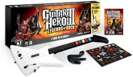 Guitar Hero III: Legends of Rock Bundle With Guitar - PC/Mac (Wired bundle)