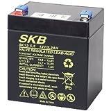GBC, Batteria Piombo Skb 12V/5,2Ah Faston 6,3
