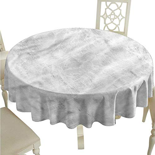 ScottDecor Wrinkle Free Tablecloths Marble,Soft Pastel Onyx Effects Christmas Tablecloth Round Tablecloth D 36