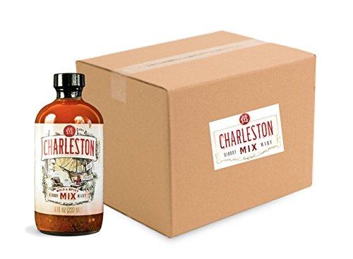 FULL CASE Charleston Mix Bloody Mary Bold & Spicy 8-oz. (12 bottles)