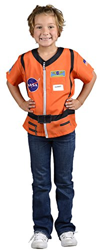 Aeromax My 1St Career Gear Astronaut With Nasa Logo  Orange