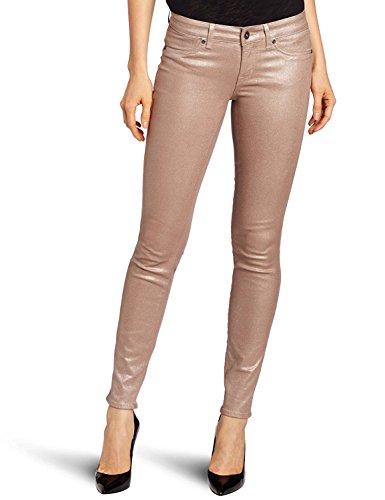 Cotton Rich Skinny Jeans (Rich & Skinny Jean Women's Legacy Sparkle Metallic Jean, Barbie, 24)