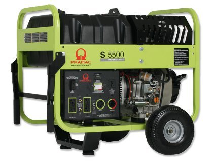 Amazon Pramac S5500 5500 Watt Portable Diesel Generator With