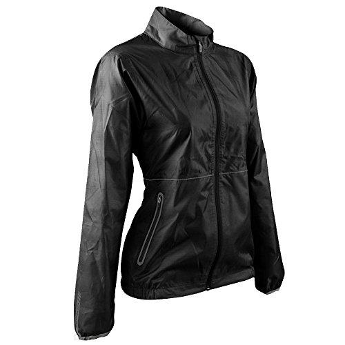 Sun Mountain Womens Cirrus Rain Jacket Black S ()