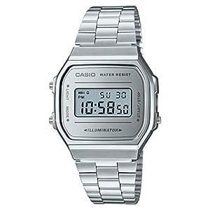 Casio Smart Watch Armbanduhr A168WEM-7EF 41PIUDwIOOL