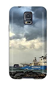 Hot Lighthouse Man Made Lighthouse First Grade Tpu Phone Case For Galaxy S5 Case Cover