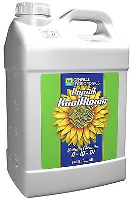Koolbloom Liquid (General Hydroponics Liquid KoolBloom for Gardening, 2.5-Gallon)