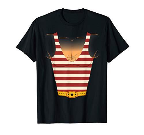 Vintage Circus Shirts - Circus Strongman Costume  T-Shirt -