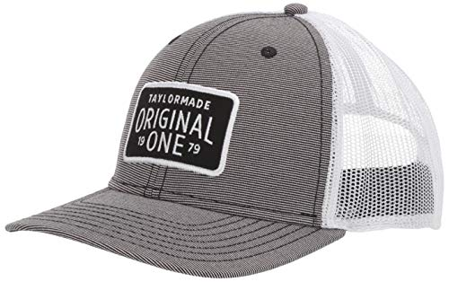 (TaylorMade 2019 Lifestyle Trucker Hat, Gray)