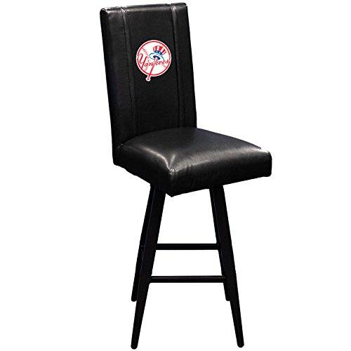 XZIPIT MLB Bar Stool Swivel 2000 with New York Yankees Secondary Logo Panel, (Mlb Bar Stools)