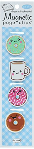 Re-marks Donuts And Coffee Magnetic Page Clips, Pack of 4 (43344902) from Re-Marks