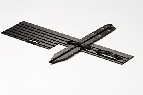 PRO Aluminum Landscape Edging - 1/8'' X 4'' X 8' (120' per box) - Mill Finish by Dreamscape Superior Landscape Edging (Image #2)