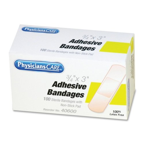 Wholesale CASE of 20 - Acme First Aid Adhesive Refill Bandages-Adhesive Bandages, Plastic, 3/4
