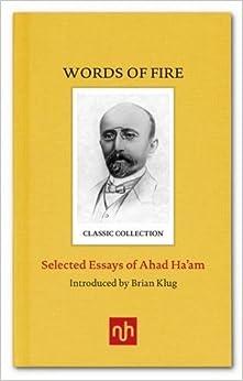 Book Ahad Ha'am Selected Essays