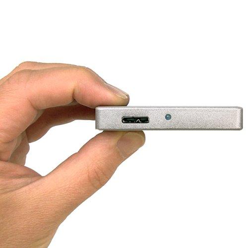 U32 Shadow™ 500GB External 2.5-in USB 3.0 Portable Hard Drive Silver, Best Gadgets