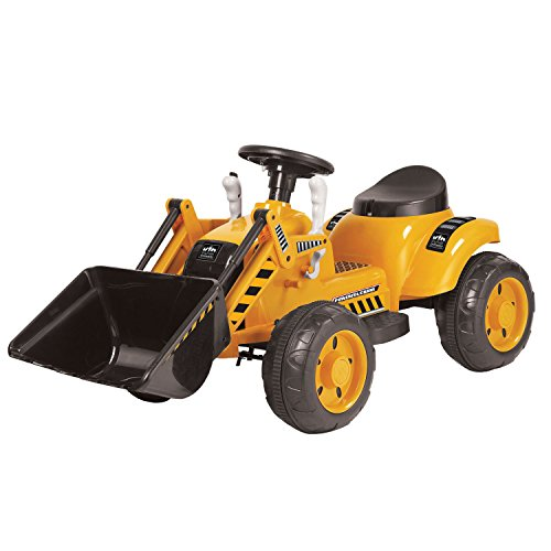 Kid Motorz 6V Tractor Ride-On, Yellow from Kid Motorz