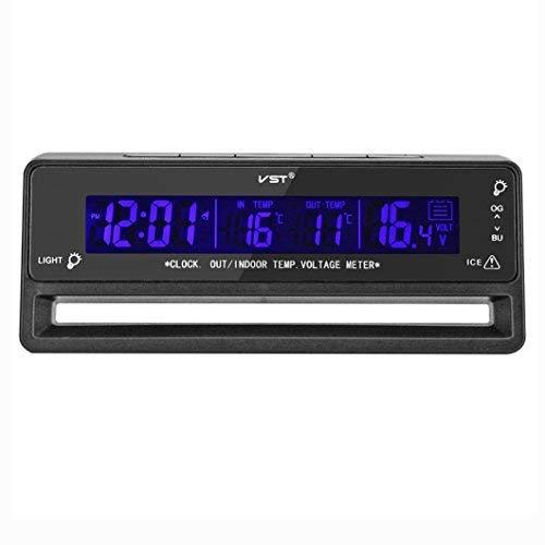 OFKPO Coche Voltaje Digital LCD Termó metro - para coche