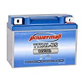 Weize YTX4L-BS High Performance-Rechargeable-Sealed Motorcycle Battery Compatible With Polaris Scrambler, Sportsman 90, Honda Scooters NQ50 Spree,Kawasaki 110 Can-Am DS70,Yamaha TTR125E/LE
