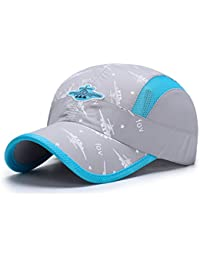 Kids Lightweight Quick Drying Sun Hat Airy Mesh UV Protection Caps