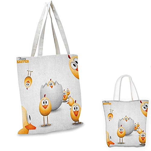 Easter royal shopping bag Happy Chicks Emerging Out