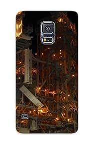 Premium Durable Space Shuttle Nasa Fashion Tpu Galaxy S5 Protective Case Cover