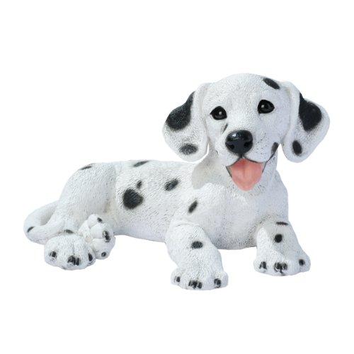 Figurine Dalmatian Dog (Design Toscano Dalmation Puppy Dog Statue, Multicolored)