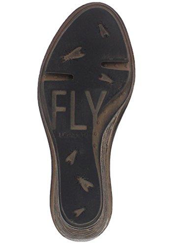 Fly London SABI621FLY, Women's Wedges, NILEGREEN/MUSTARD, 42 EU