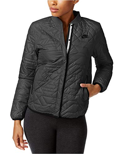 Nike Womens Quilted Insulated Primaloft Jacket River Rock (Small)