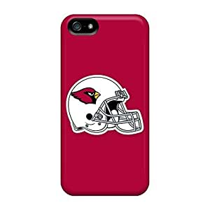 Hot Odj2268leDG Arizona Cardinals 5 Tpu Case Cover Compatible With Iphone 5/5s