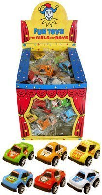 12 Mini Pull Back Race Cars - Party bag filler toys Gifs 4 All Occasions Ltd