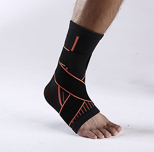 HTWY Sporting Goods Mountaineering Nylon Protective Gear Wound Pressure Ankle Bandage Ankle Exercise Protection Ankle by HTWY