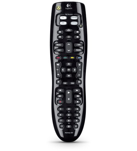 Logitech Harmony 300 Remote Control 915-000143 (Discontinued by Manufacturer)