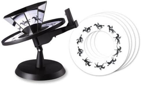 4M alcance de animacioen Animacioen KidzLabs Praxinoscopio: Amazon ...