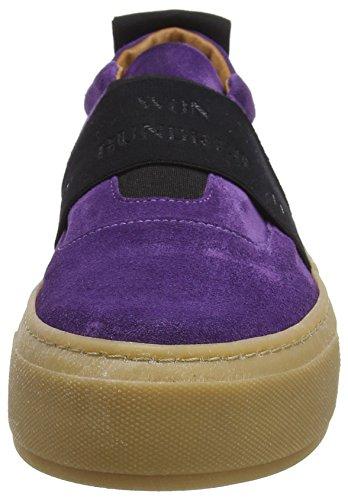 Shoe Violet Purple Shoes Randy 75 Femme Colour Won Elastic Hundred Baskets 1p0T0qOY