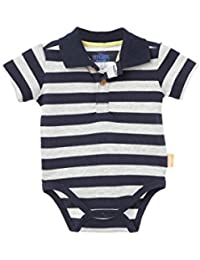 Baby Boy Polo Stripes Onesie Bodysuits Short Sleeve Bodys para Bebes