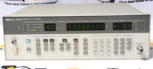(Agilent Keysight 8657A RF Signal Generator 100khz-1040MHz (Renewed) )