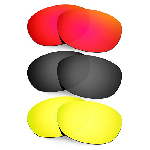 Hkuco Plus Mens Replacement Lenses For Costa Harpoon - 3 pair