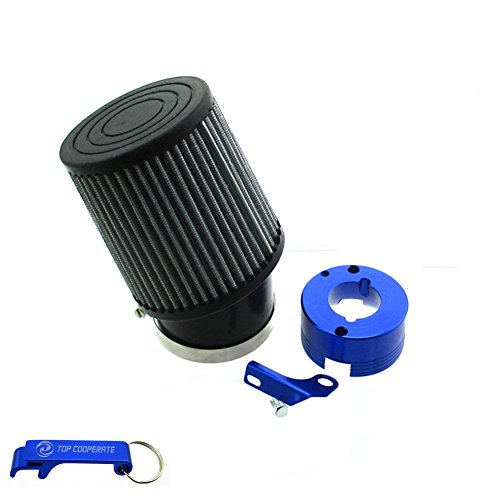 TC-Motor Air Filter + Adapter For 11Hp 13Hp Honda GX340 GX390 Clone Engine Go Kart Predator 301cc 420cc Golf Carts Mud Boats Racing Lawnmowers Minibikes Powered Paragliders GX270s 13/15hp Chinese OHVs (Clone Engine Parts)