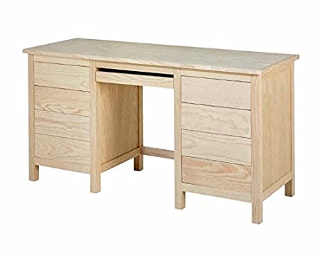 ojemar international Mesa de Estudio Lorca Doble cajonera: Amazon ...