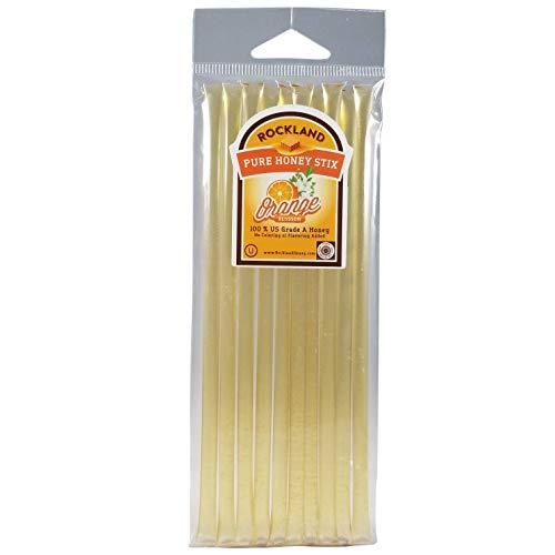 100% Pure Orange Blossom USA Honey 10 Honey Stix Kosher OU