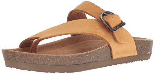 Tan Sandalo Da Donna Di Eastland Con Sandalo