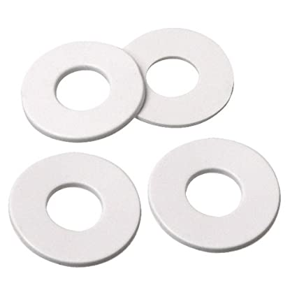 Amazon.com: 1 Inch O.D. Rubber Washer with 7/16 Inch Center Hole ...