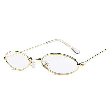 GJYANJING Gafas De Sol Gafas De Sol Ovaladas Pequeñas para ...