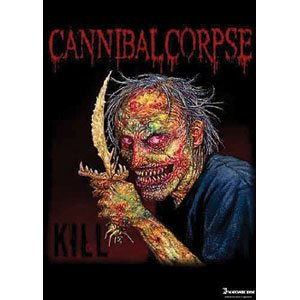 Cannibal Corpse Red Eye Fabric Poster Flag