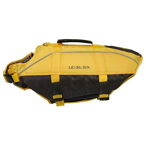 Nivel Seis perro PFD: gaa-roft-ye-m Rover Floater Outerwear chalecos, mediano