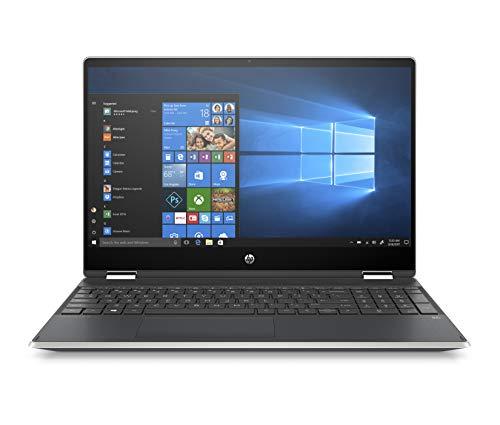 HP Pavilion X360 Convertible 15-Inch Laptop, Intel Core I5-8265U Processor, 8 GB SDRAM, 1 TB SATA & 128 GB Solid-State Drive Storage, Windows 10 Home (15-dq0010nr, Natural Silver) (Hp Pavilion 15 Laptop)