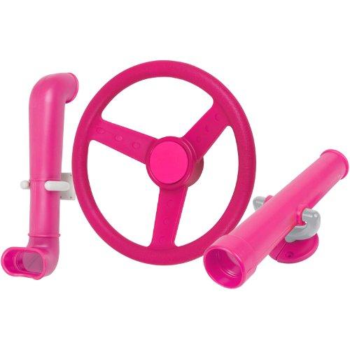 Swing Set Stuff Periscope Telescope Steering Wheel (Pink) SSS Logo Sticker